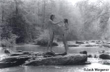 Bettie and Lyle Upon the Rocks in the Stream, I  (1991)