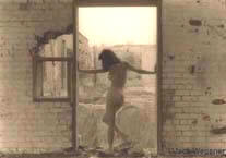 Nude at Door Frame, II  (1989)
